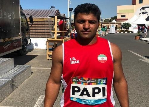 جابجایی رکورد جهانی توسط دونده خوزستانی